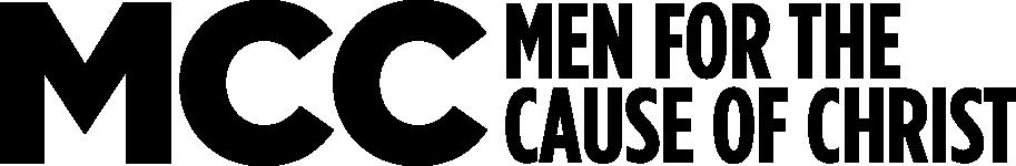 MCC Men for the Cause of Christ black logo